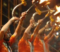 Ganga Aarti (Celebration and Fund Raiser for the Ganges River)