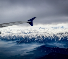 "Flying over Kashmir ""Heaven On Earth"""