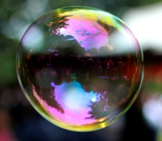 A world in a bubble