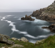 Baie des Trepasses and Pointe du Raz, Bretagne, France. May 2015