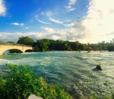 Bridge over Niagara River