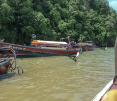 Krabi Long Boats